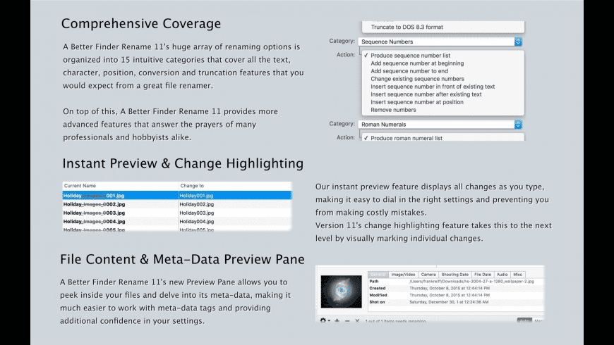 A Better Finder Rename for Mac - review, screenshots
