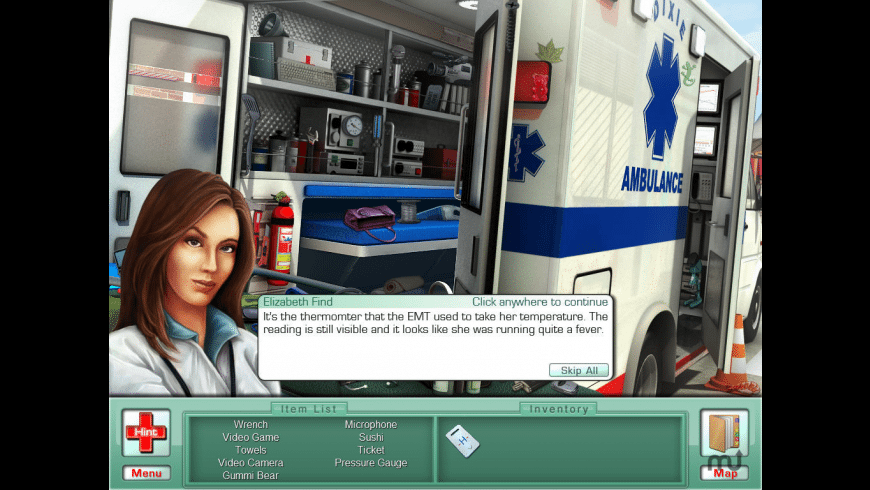 Elizabeth Find M.D. Diagnosis Mystery  for Mac - review, screenshots