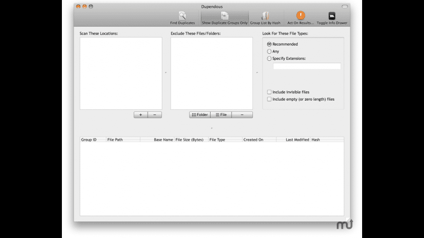 Dupendous for Mac - review, screenshots