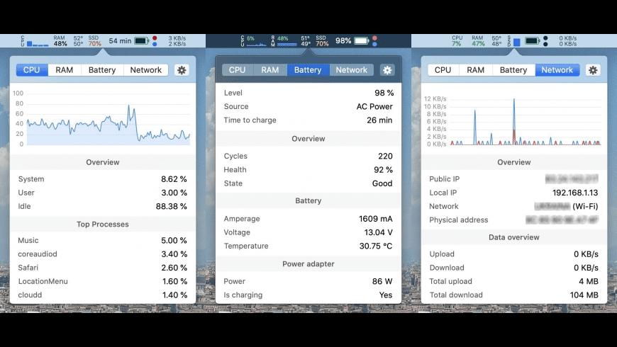 Stats for Mac - review, screenshots