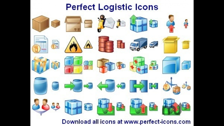 Perfect Logistic Icons for Mac - review, screenshots