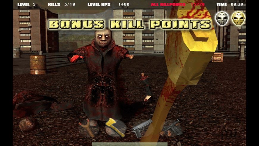 Jason vs Zombies for Mac - review, screenshots
