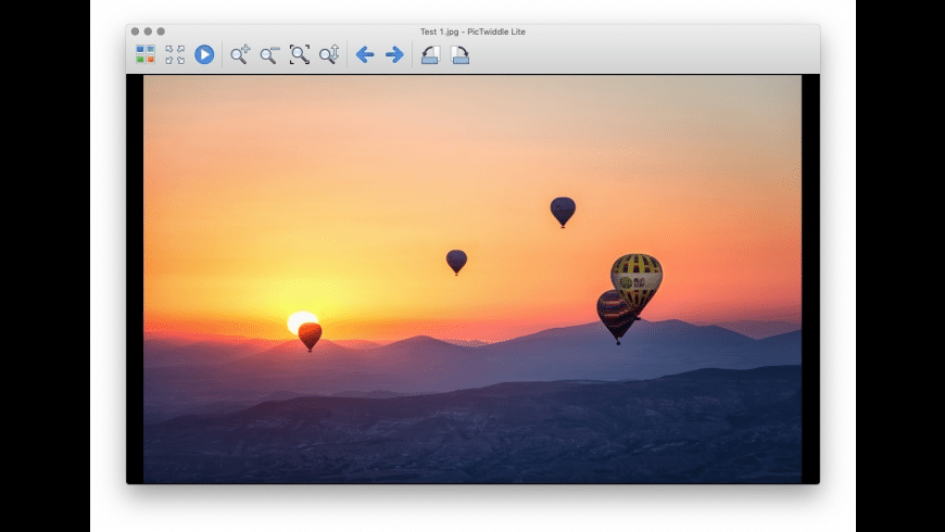PicTwiddle Lite for Mac - review, screenshots
