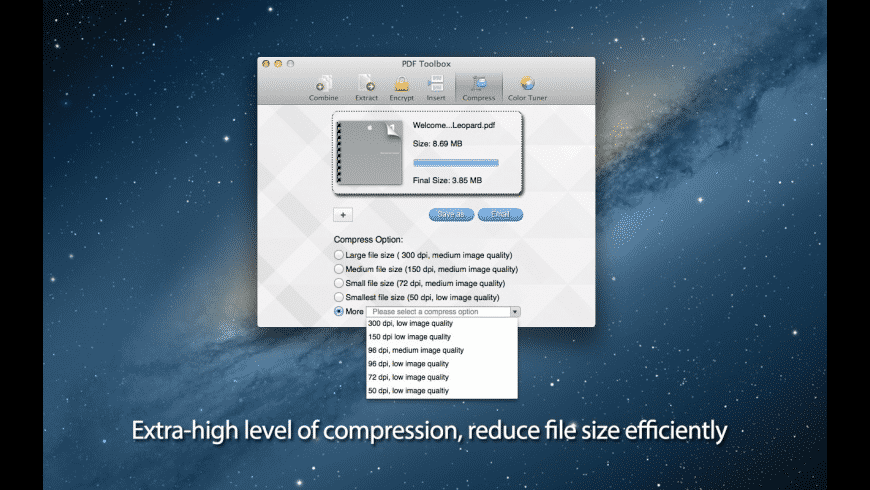 PDF Toolbox for Mac - review, screenshots