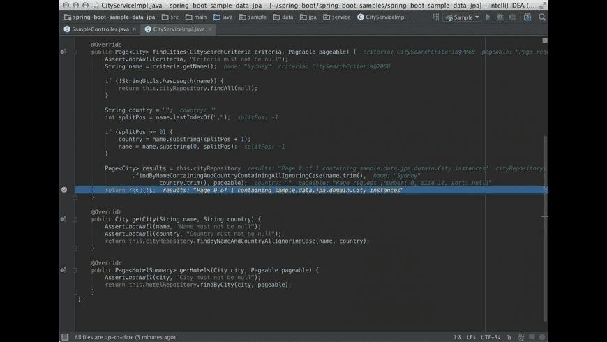IntelliJ IDEA for Mac - review, screenshots