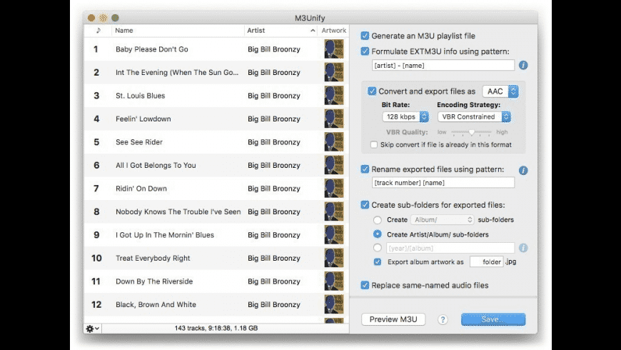 M3Unify for Mac - review, screenshots