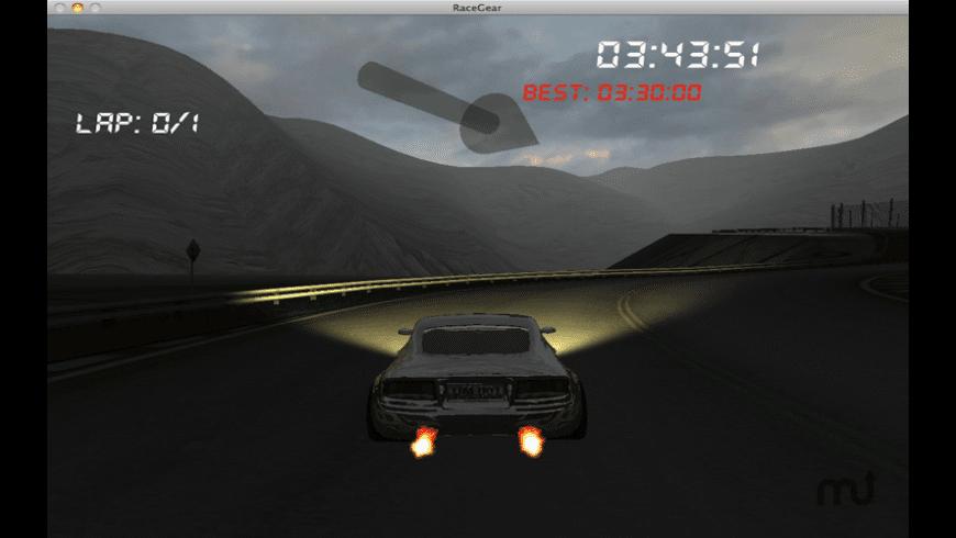 Race Gear for Mac - review, screenshots