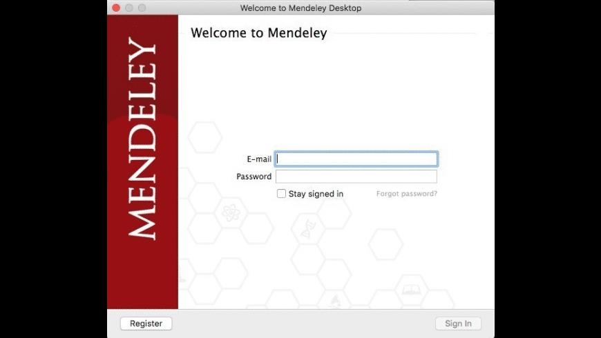 Mendeley Desktop for Mac - review, screenshots
