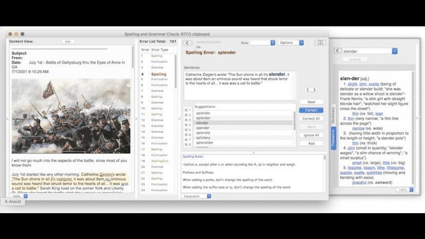 Grammarian Pro for Mac - review, screenshots