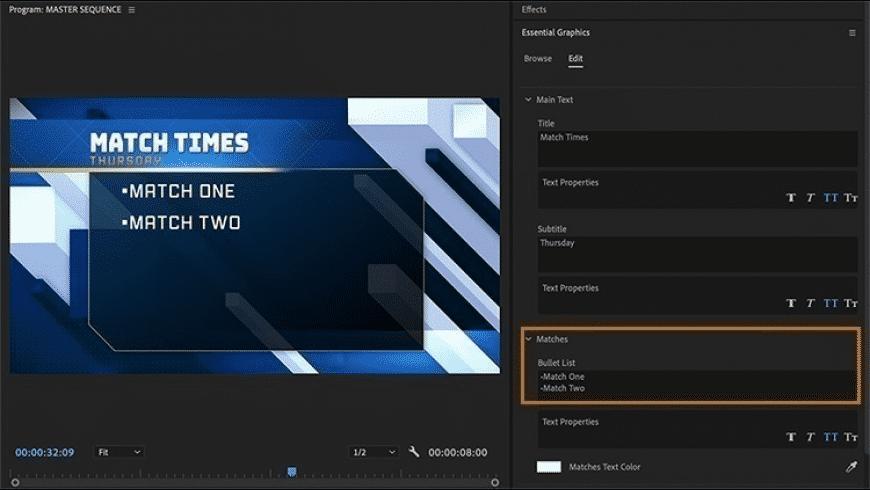 Adobe Premiere Pro for Mac - review, screenshots