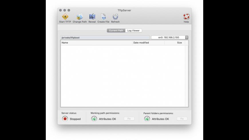 TftpServer for Mac - review, screenshots
