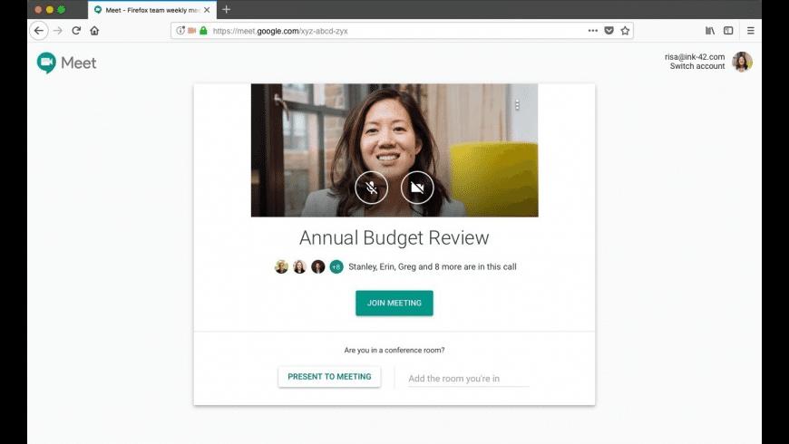 Google Hangouts for Mac - review, screenshots