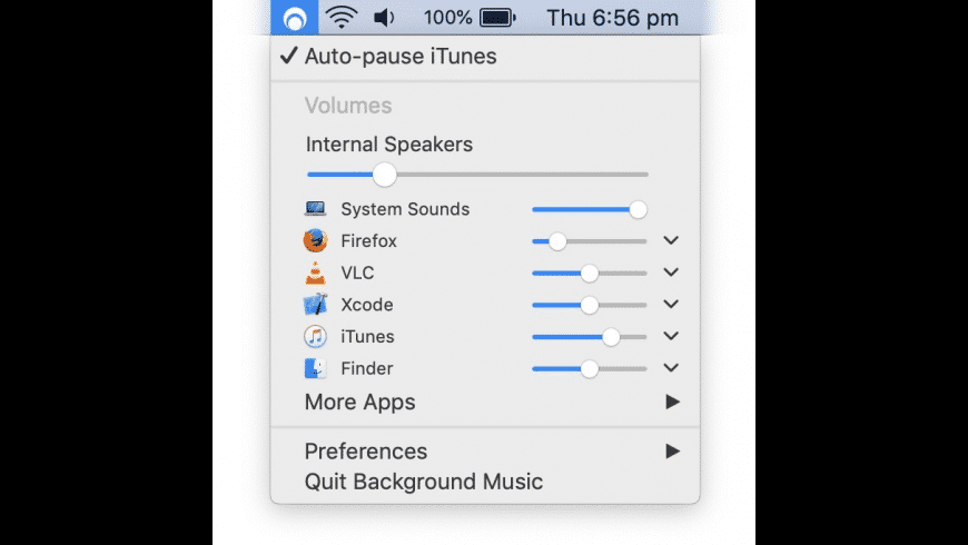 Background Music for Mac - review, screenshots