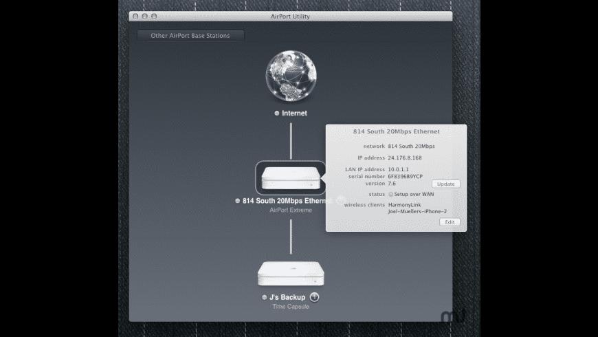 AirPort Utility for Mac - review, screenshots
