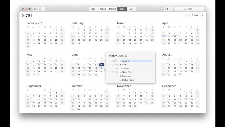 BusyCal for Mac - review, screenshots