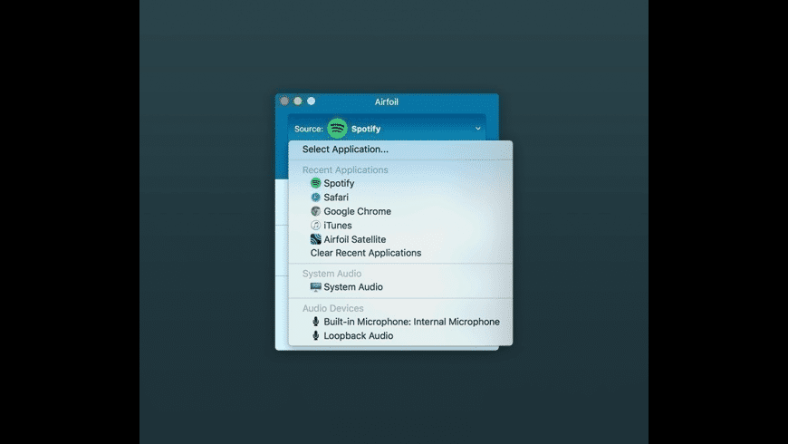 Airfoil for Mac - review, screenshots