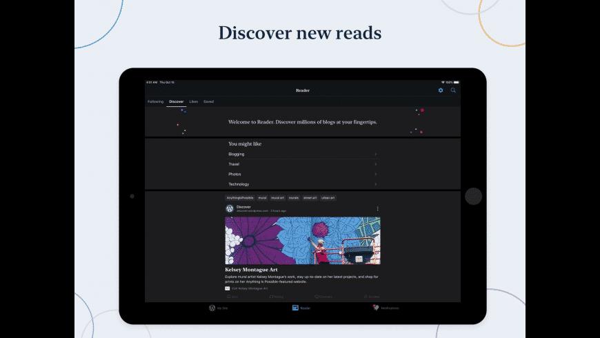 WordPress for Mac - review, screenshots
