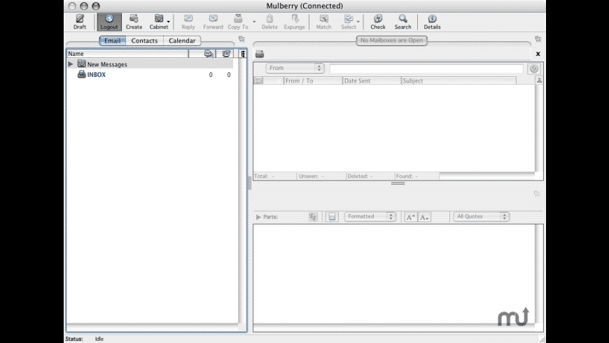 Mulberry for Mac - review, screenshots