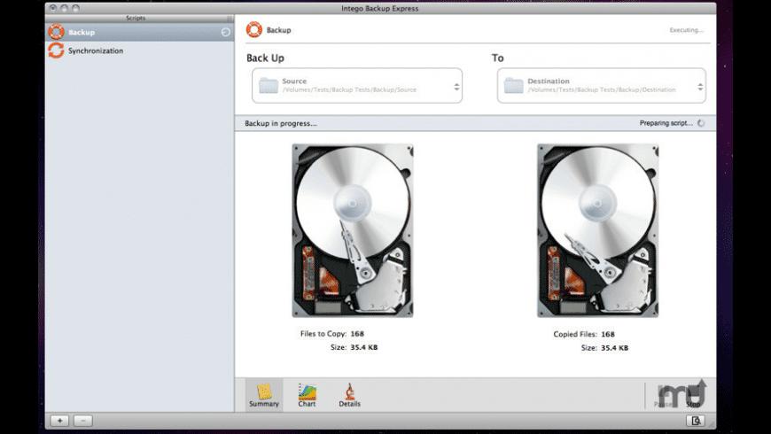 Intego Backup Express for Mac - review, screenshots