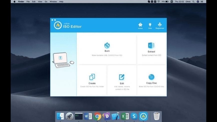 UUByte ISO Editor for Mac - review, screenshots