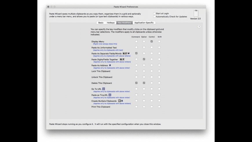 Paste Wizard for Mac - review, screenshots