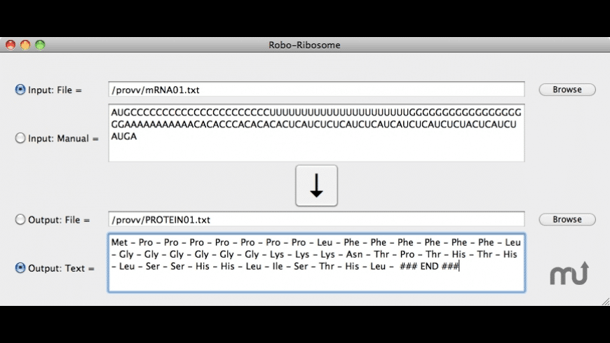 Robo-Ribosome for Mac - review, screenshots