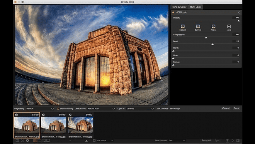ON1 Photo RAW 2021 for Mac - review, screenshots