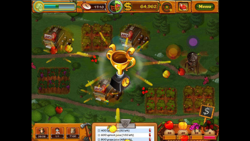 Fruits Inc for Mac - review, screenshots