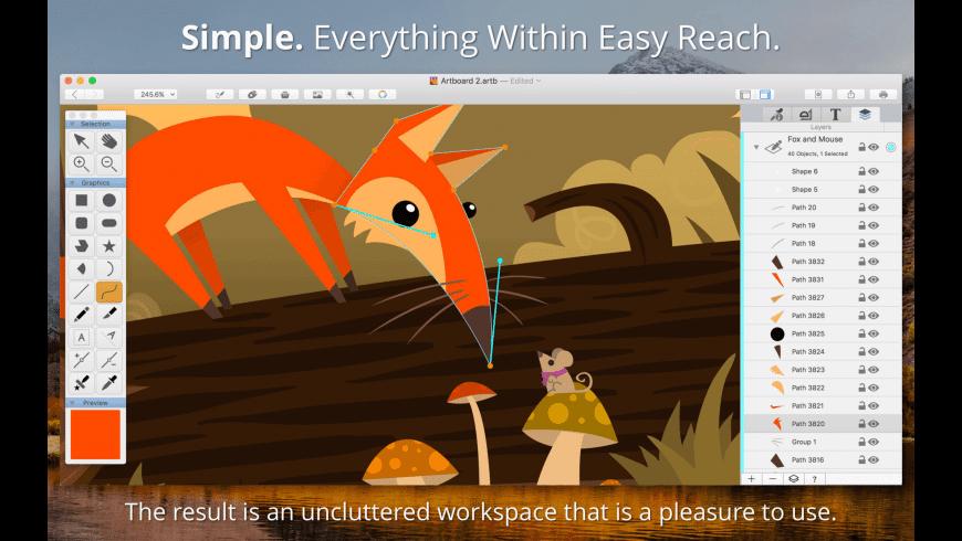 Artboard for Mac - review, screenshots