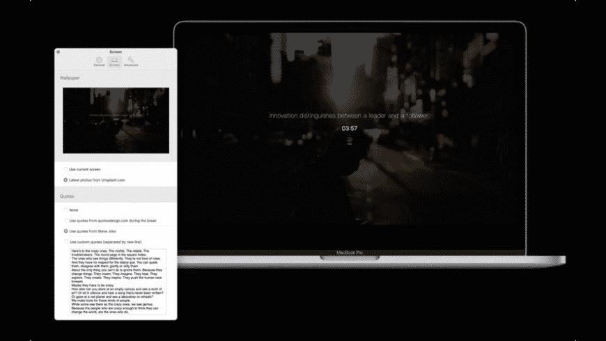 JustFocus for Mac - review, screenshots