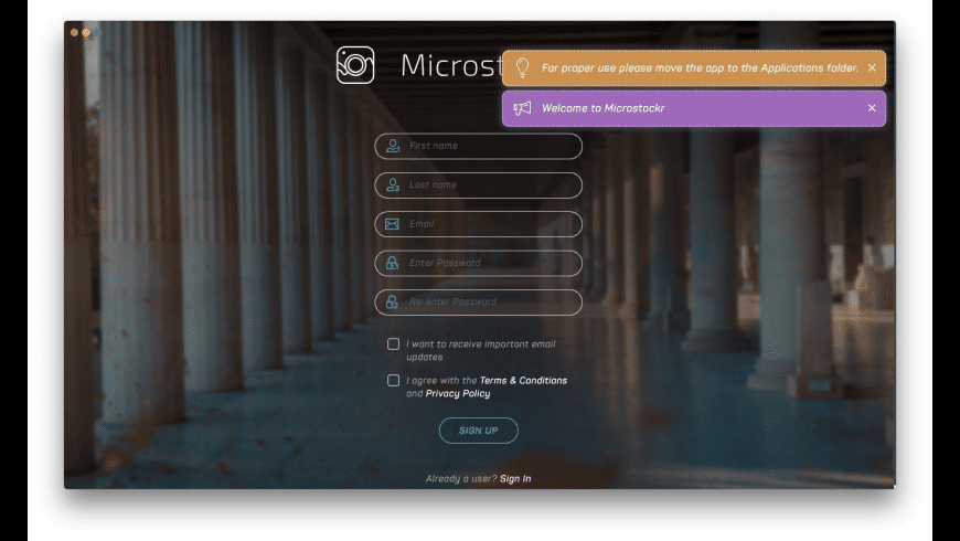 Microstockr for Mac - review, screenshots