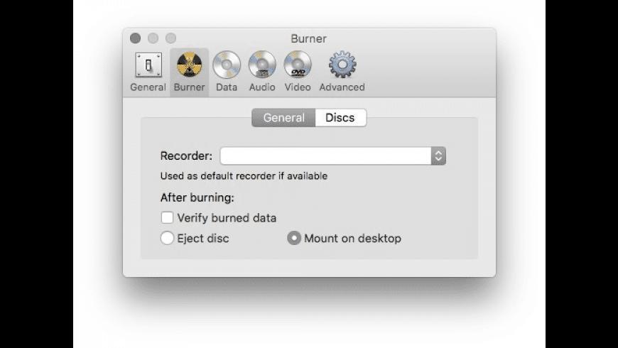 Burn for Mac - review, screenshots