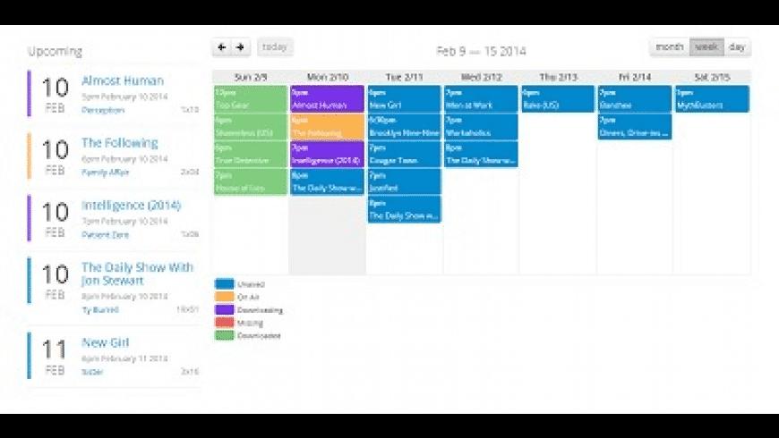 Sonarr for Mac - review, screenshots