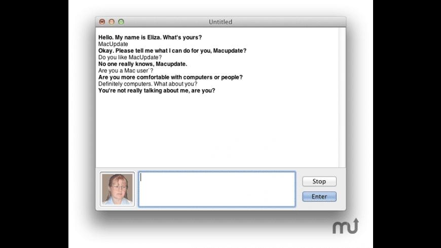 Eliza for Mac - review, screenshots