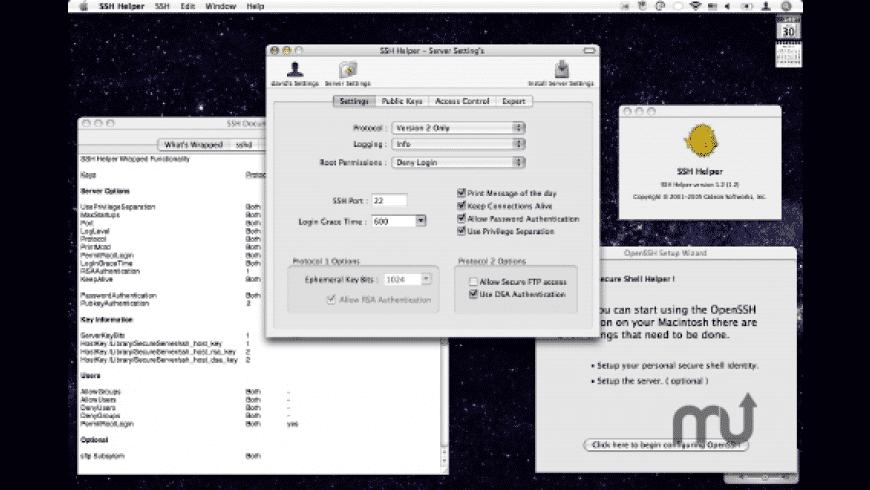 SSH Helper for Mac - review, screenshots