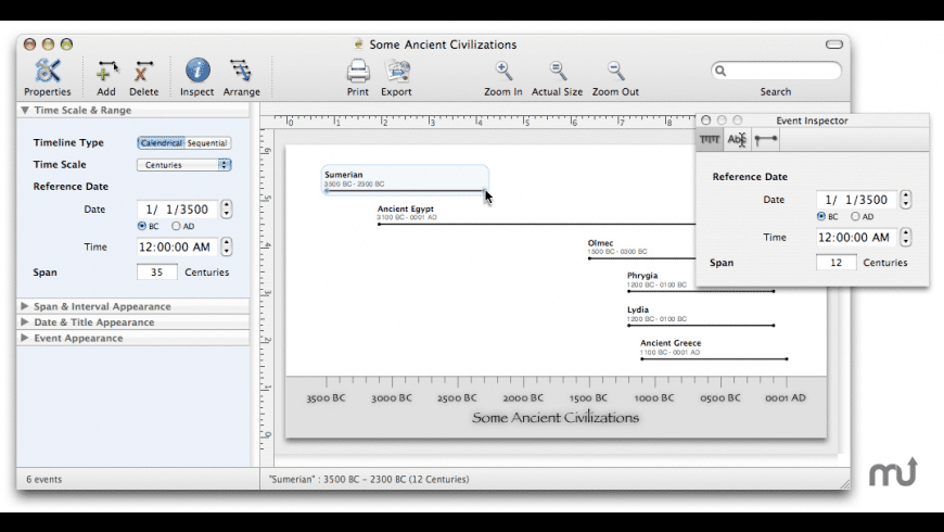 Temporis for Mac - review, screenshots