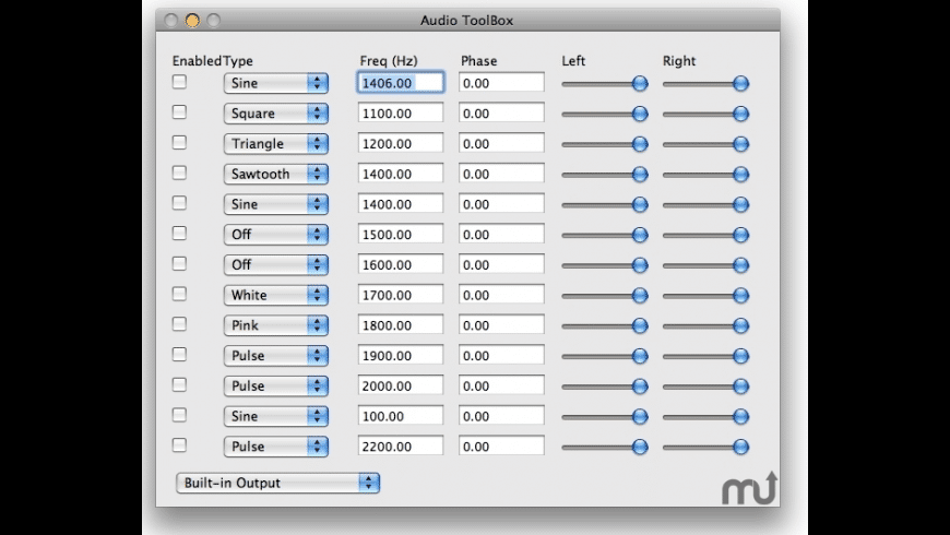 The Audio Toolbox for Mac - review, screenshots