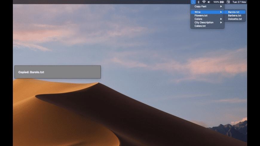 Copy Fast for Mac - review, screenshots