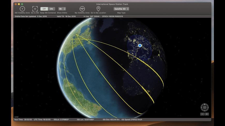 International Space Station for Mac - review, screenshots