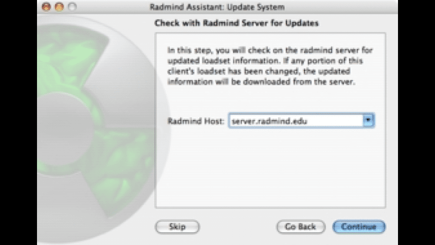 Radmind Assistant for Mac - review, screenshots