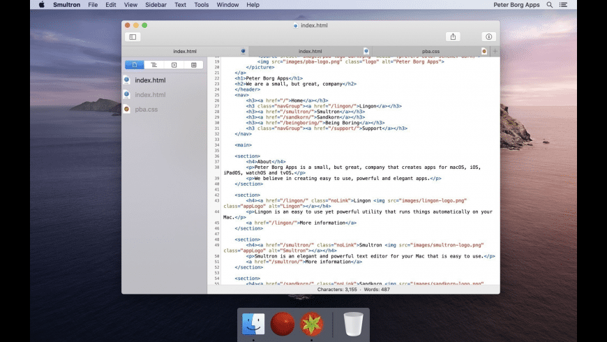 Smultron for Mac - review, screenshots