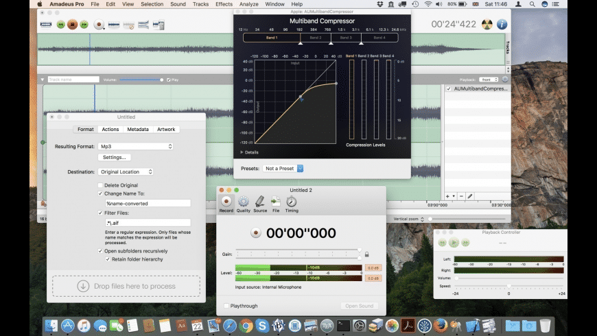 Amadeus Pro for Mac - review, screenshots