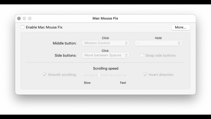 Mac Mouse Fix for Mac - review, screenshots