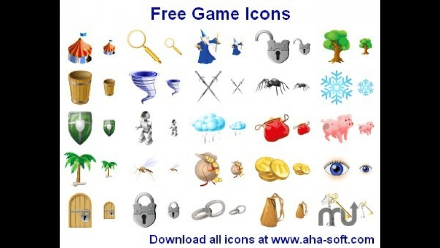 Free Game Icons for Mac - review, screenshots