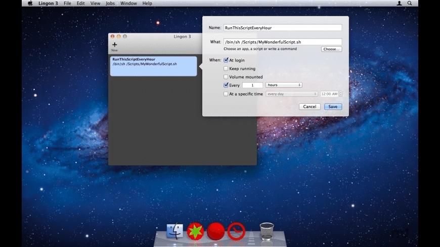 Lingon for Mac - review, screenshots