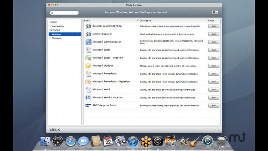 Citrix Workspace for Mac - review, screenshots