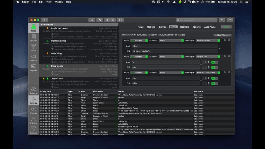 Simon for Mac - review, screenshots