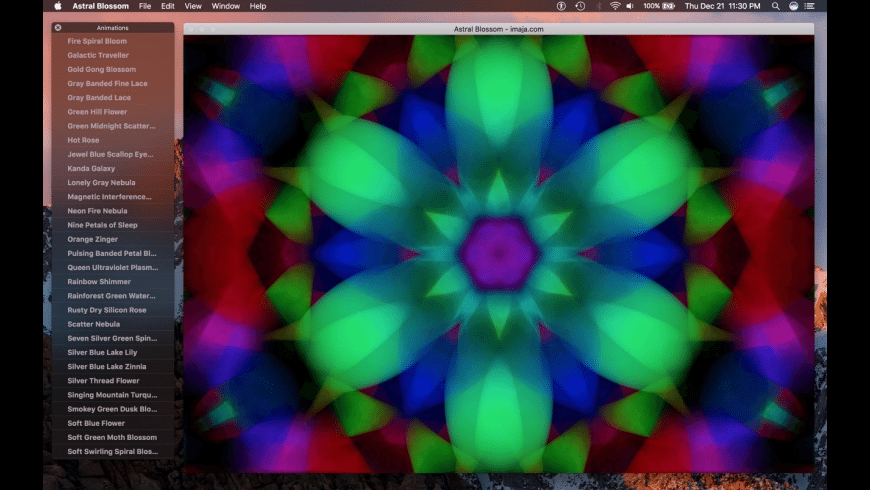 Astral Blossom for Mac - review, screenshots