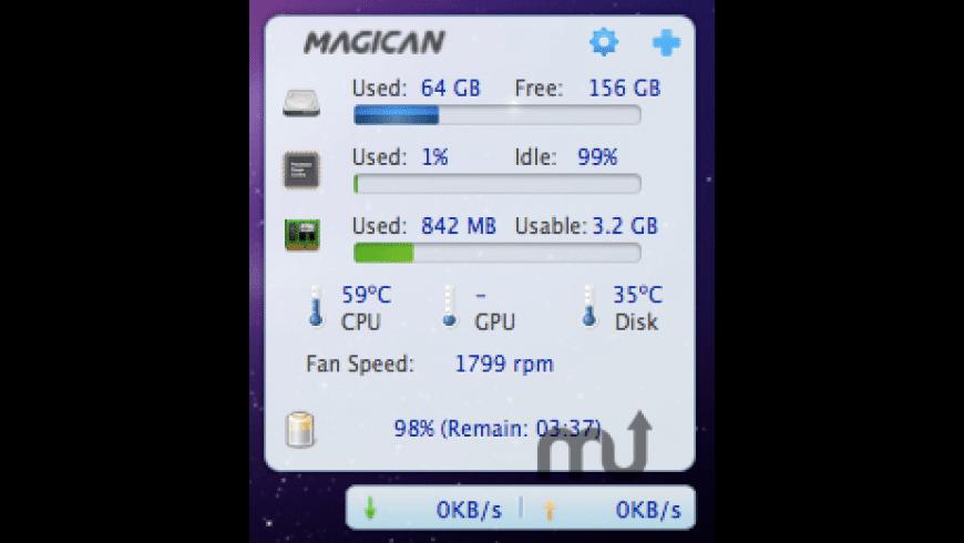 Magican Monitor for Mac - review, screenshots