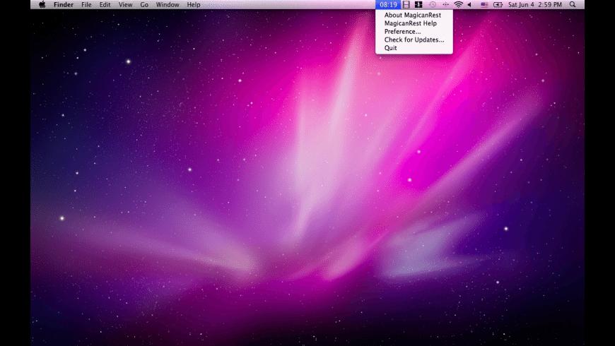 Magican Rest for Mac - review, screenshots